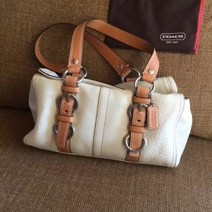 Beautiful Coach Handbag with Dust Cover